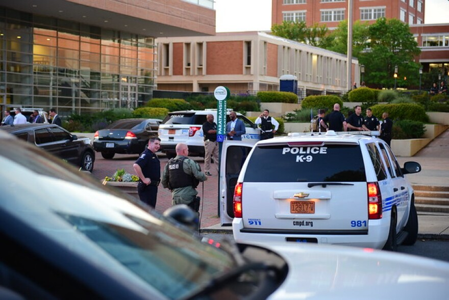 UNCC police and CMPD on campus after shooting
