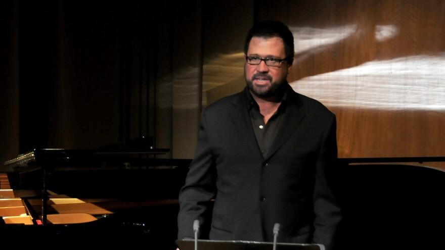 David Daniels, performing in New York during a Metropolitan Opera press conference in 2011.