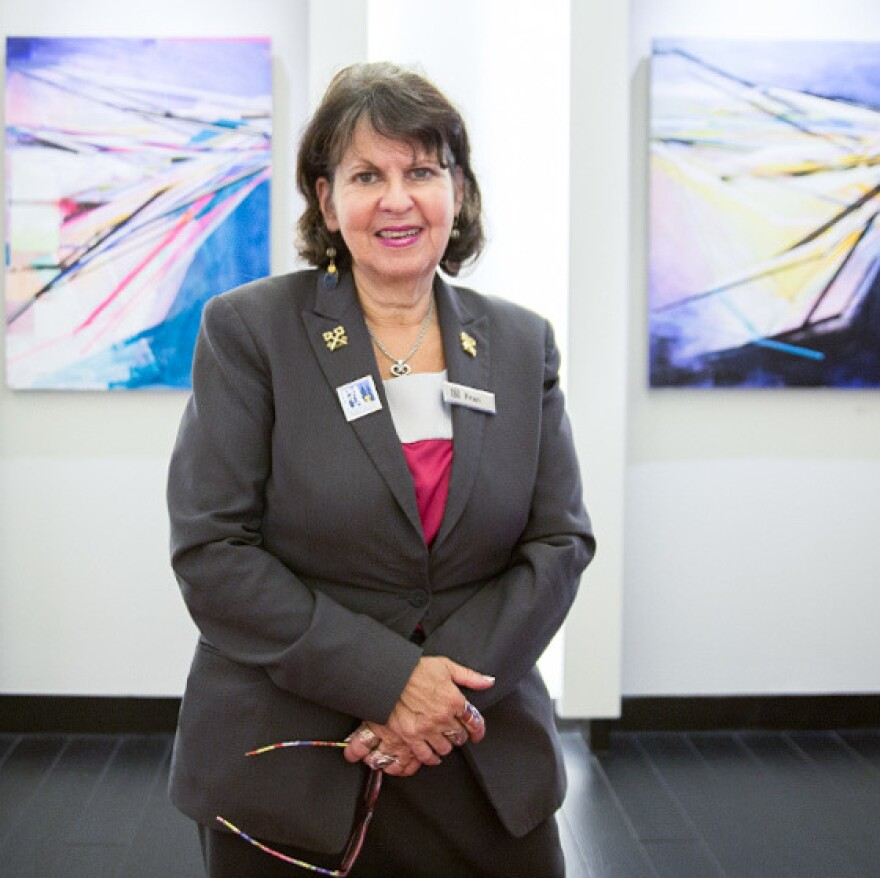 Fran Nachman is lead concierge and a member of Les Clefs d'Or at the Sonesta hotel in Philadelphia.