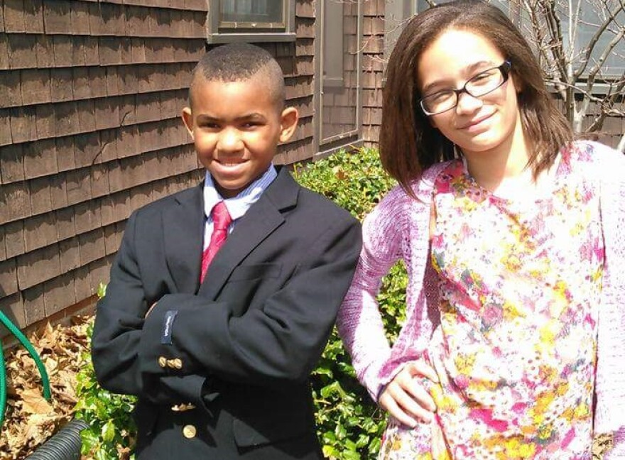 DeAnne Toussaint's son Jayven and daughter Charlie are both 11.