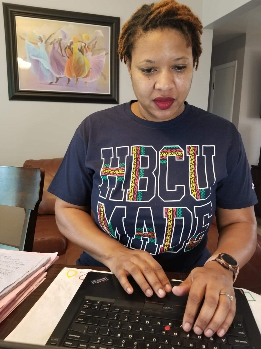 Breezi Hicks of Community Legal Services of Mid-Florida has been representing many renters facing eviction during the pandemic. She filed an emergency motion with the court that helped prevent Ambert and her family from being evicted, for now.