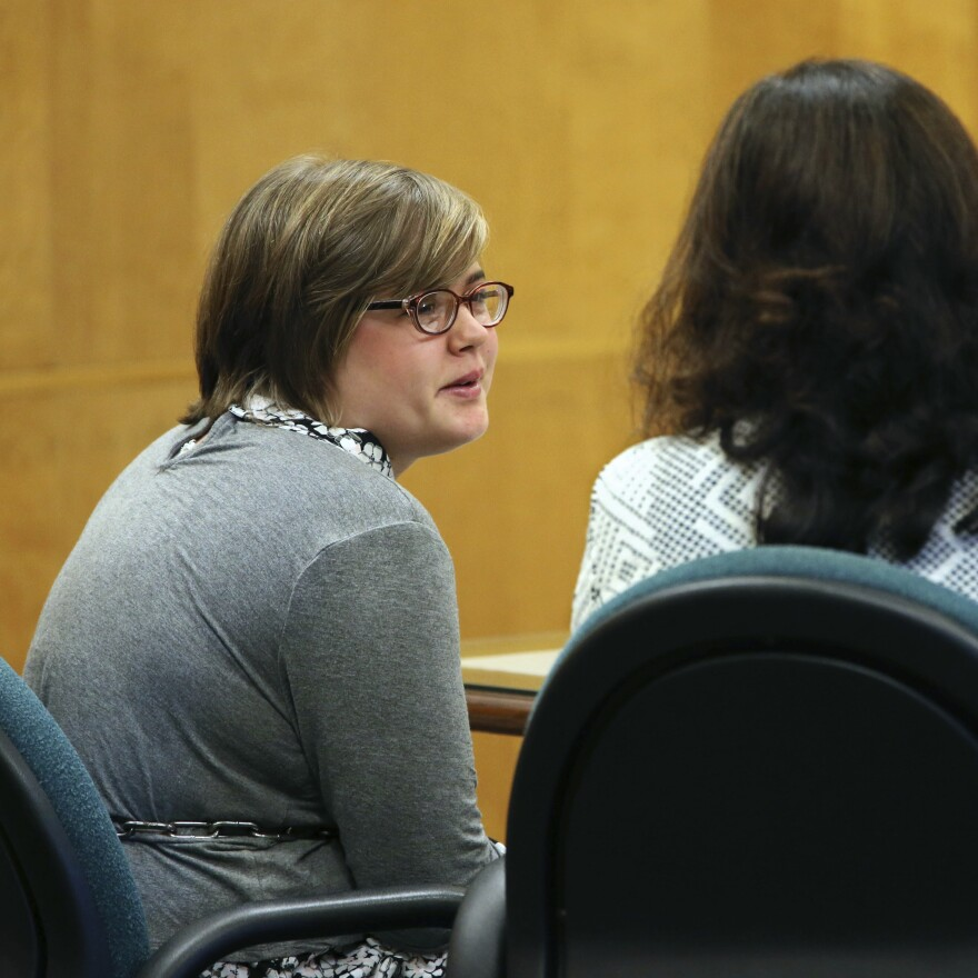 Co-defendant Morgan Geyser pleaded guilty in September in a deal that would also have her committed to a mental institution, rather than going to prison.