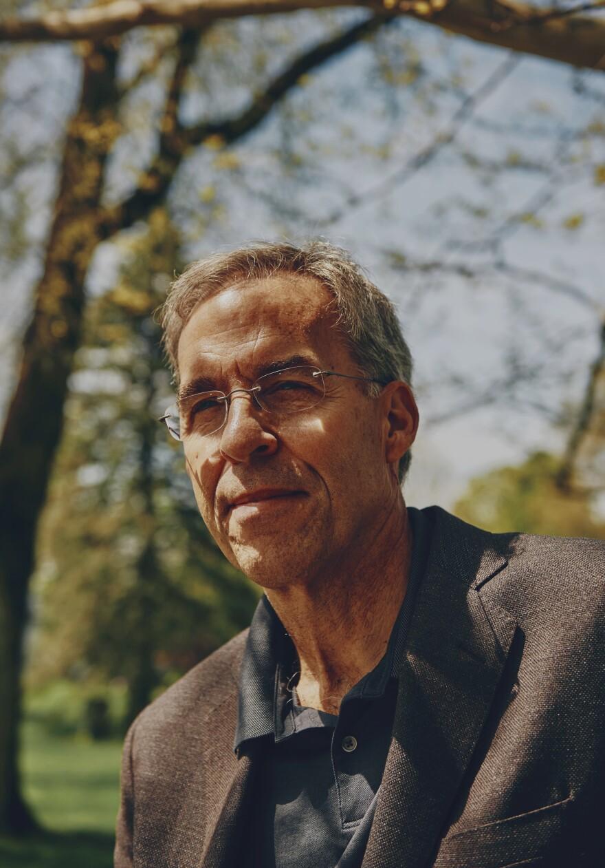 Rick Atkinson, author of <em>The British Are Coming, </em>in Lexington, Mass.