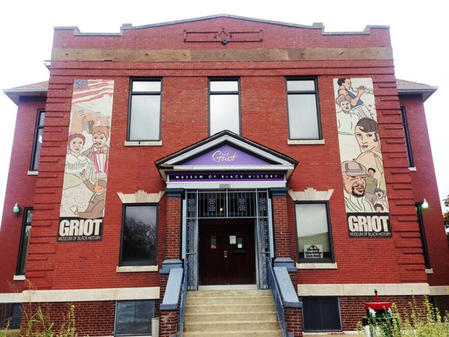 The Griot Museum building at 2505 St. Louis Ave. in North City cost $14,000 in the early 1990s. It contains 20,000 square feet but current exhibitions take up only 12,000 of that.