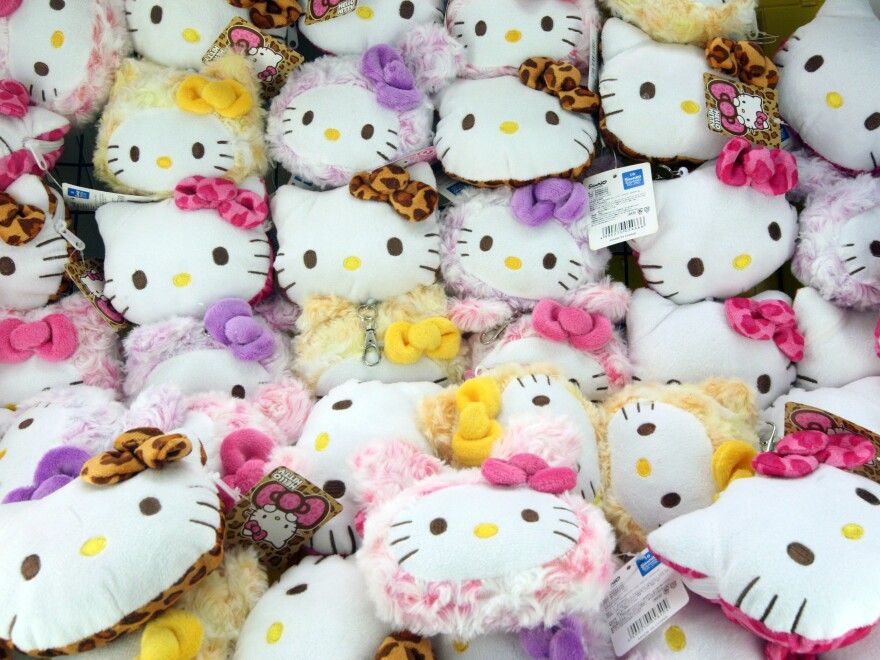 A display at Hello Kitty's Kawaii Paradise in Tokyo. Sanrio's new president and CEO Tomokuni Tsuji will be steering a company that has seen slumping revenues in recent years.