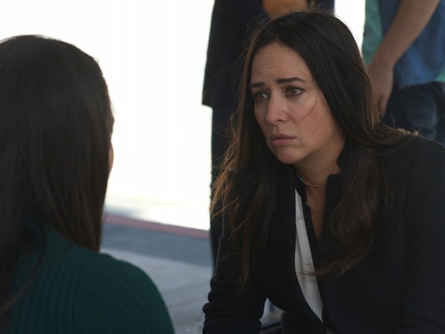 Pamela Adlon stars as Sam Fox, a single working mother, in the FX series <em>Better Things.</em>