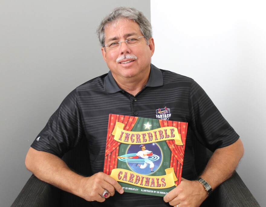"""Ed Wheatley joined Don Marsh for a discussion about his illustrated children's book """"Incredible Cardinals."""""""