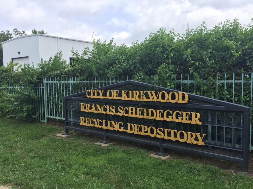 Francis Scheidegger Recycling Depository in Kirkwood. Aug. 21, 2018