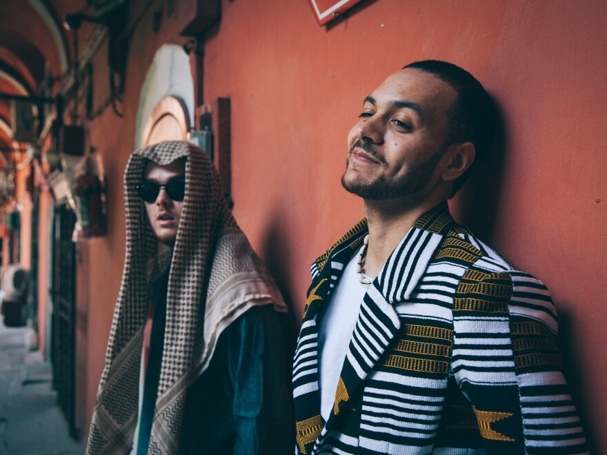 Kamaal Williams and Yussef Dayes of the band Yussef Kamaal. Dayes says that his visa to the U.S. for the SXSW festival has been revoked.