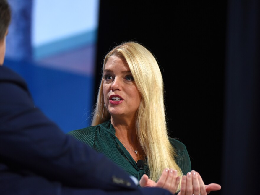 Pam Bondi, former Florida attorney general, moves from impeachment communications to the trial defense team.