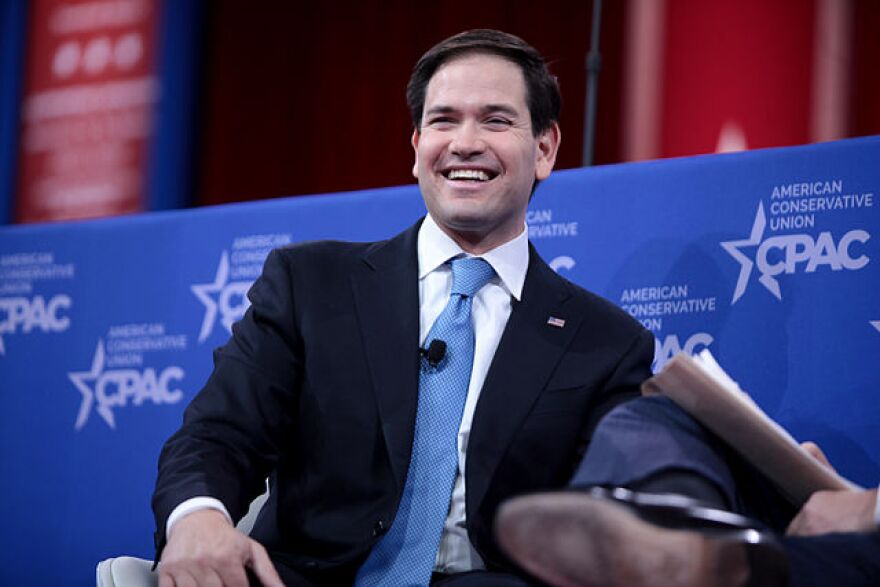 Florida Sen. Marco Rubio's announcement that he will seek the Republican Presidential nomination marks the third GOP candidate in the race so far with Tea Party ties.