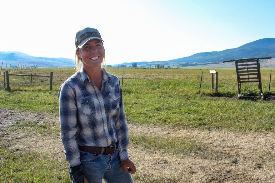 """Kate Clyatt, 28, works seasonally as a ranch hand in southwest Montana, and relies on the state's Medicaid program for health coverage. """"Ranching is just not a job with a lot of money in it,"""" Clyatt says. """"I don't know at what point I'm going to be able to get off of Medicaid."""""""