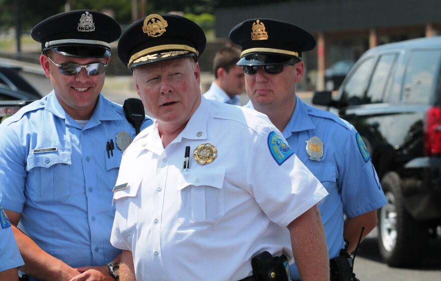 St. Louis interim Police Chief Larry O'Toole