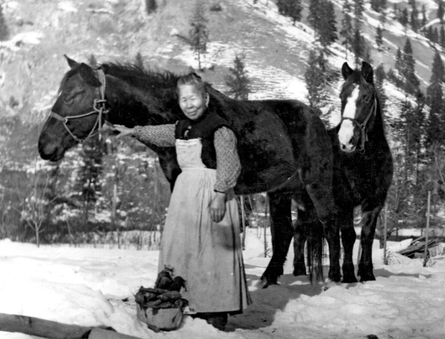 Polly Bemis with Horses, 1910.png