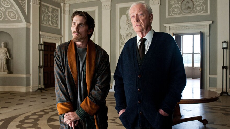 <em>The Dark Knight Rises </em>begins eight years after <em>The Dark Knight</em>, with Bruce Wayne (Christian Bale) living a reclusive life at his mansion alongside Alfred (Michael Caine). The movie is the finale of Christopher Nolan's Batman trilogy<em>.</em>