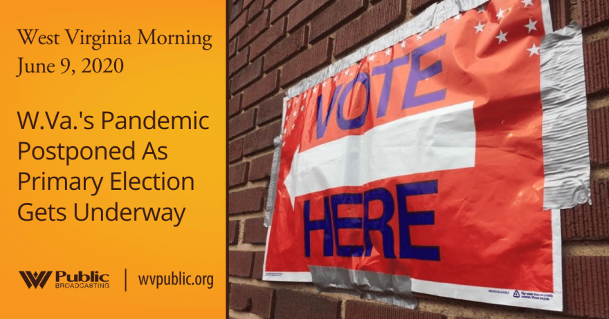 060920 W.Va.'s Pandemic Postponed As Primary Election Gets Underway