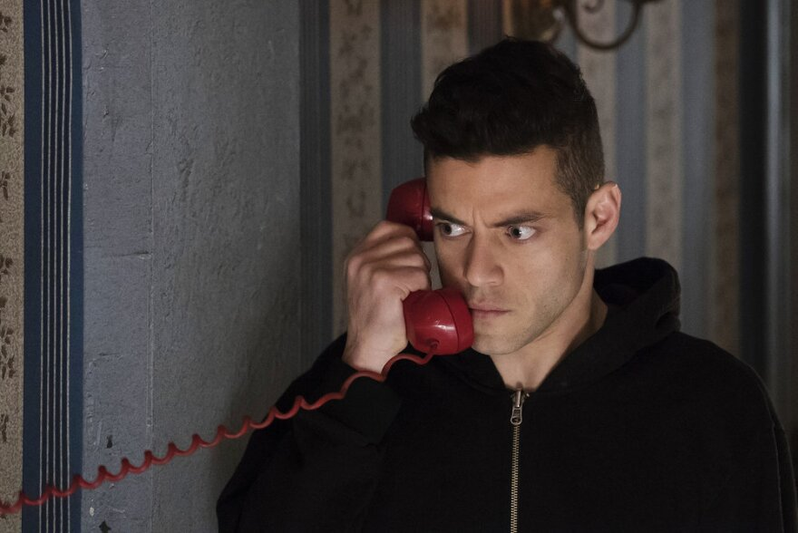 Rami Malek plays Elliot Alderson — a cybersecurity engineer who takes justice into his own hands — in the TV show<em> Mr. Robot.</em>
