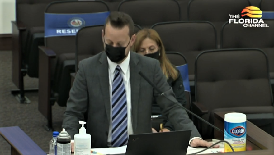 Emergency Management Director Jared Moskowitz made an appearance Thursday before a legislative committee to discuss Florida's vaccination strategy.