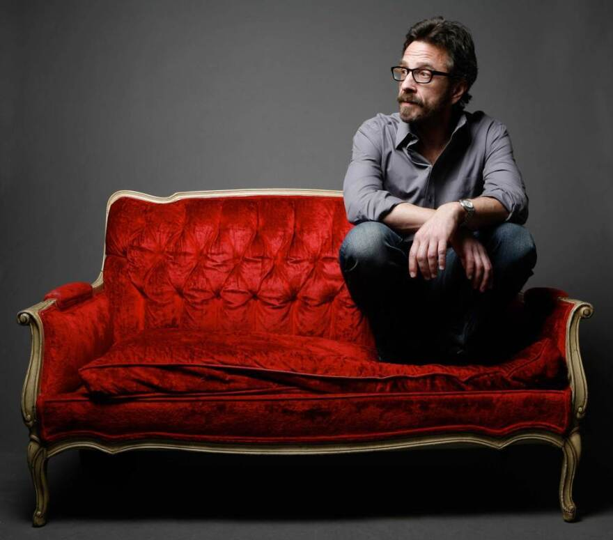 Comedian Marc Maron is the host of <em>WTF</em>, a popular interview podcast.