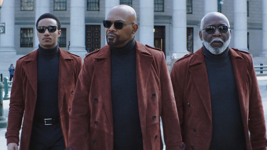 Crime fighting is a family business in <em>Shaft</em>, the newest iteration of the 1971 film of the same name starring Jessie T. Usher, Samuel L. Jackson and Richard Roundtree.