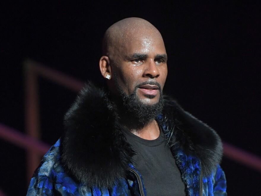 R. Kelly performs in Atlanta in 2016.