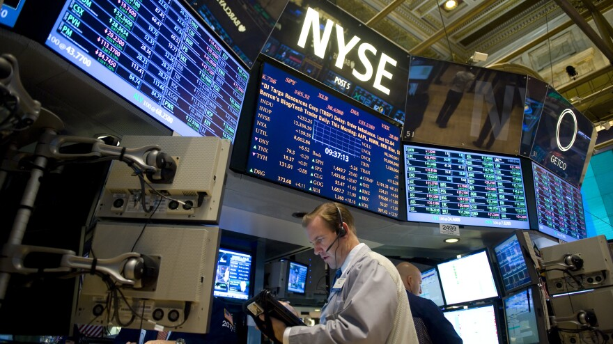 Traders work on the floor of the New York Stock Exchange Jan. 2. Financial market participants will be keeping a close eye on upcoming deadlines affecting the U.S. debt ceiling, scheduled automatic budget cuts and federal funding.