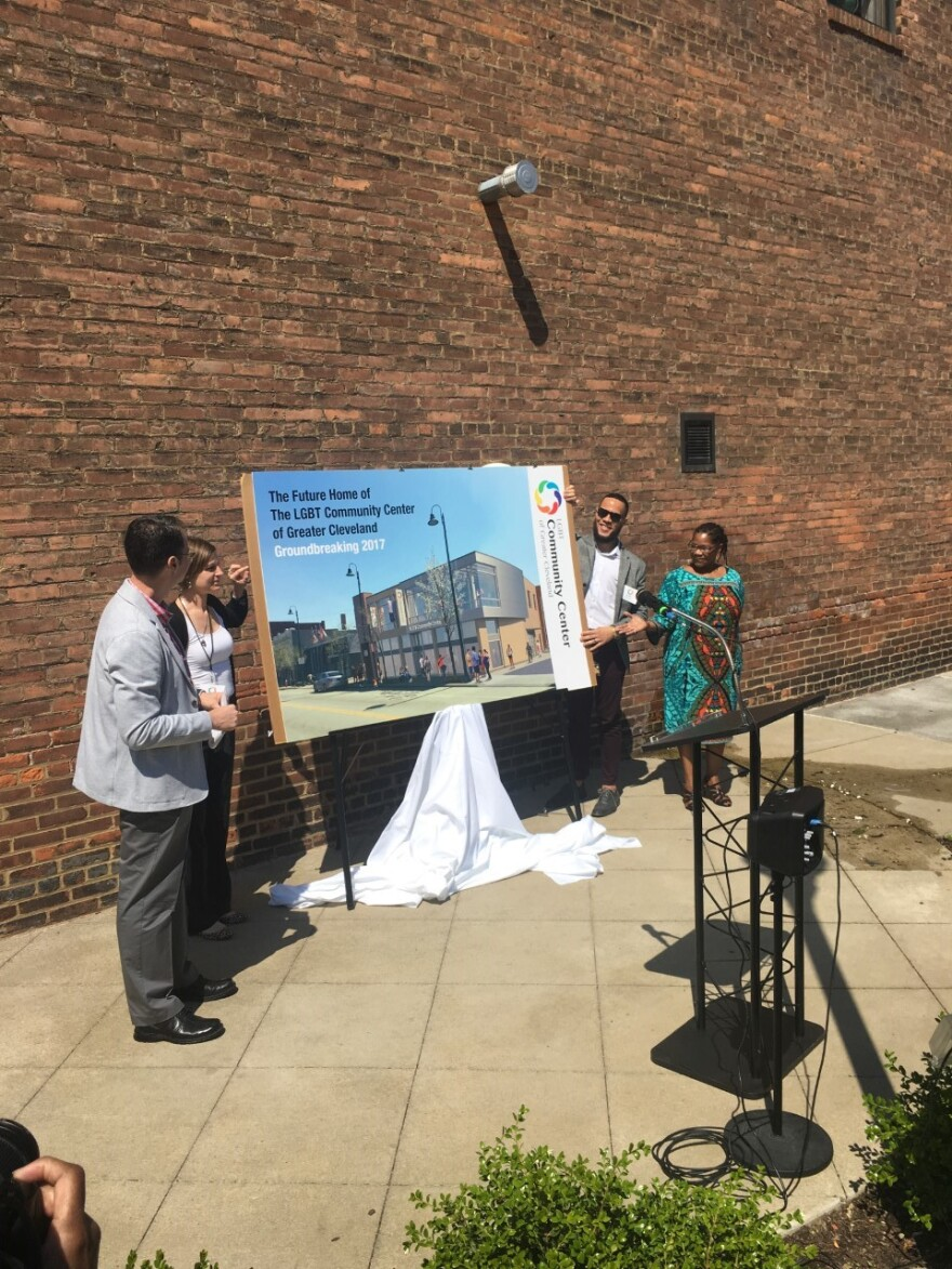 LGBT Community Center of Greater Cleveland officials unveil rendering of their new facility