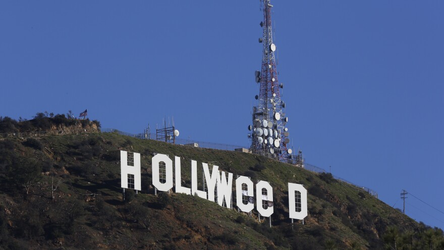 """Los Angeles residents awoke on New Year's Day to see the iconic Hollywood sign altered to read """"Hollyweed."""" Most of them were fine with it."""