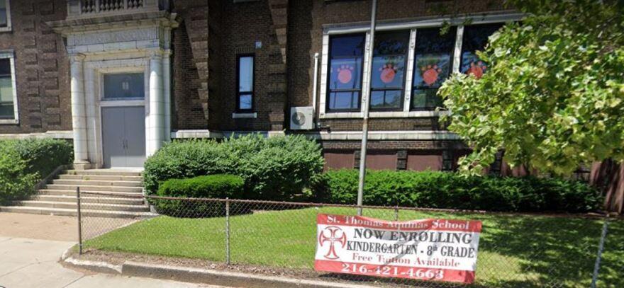 a photo of St. Thomas Aquinas School