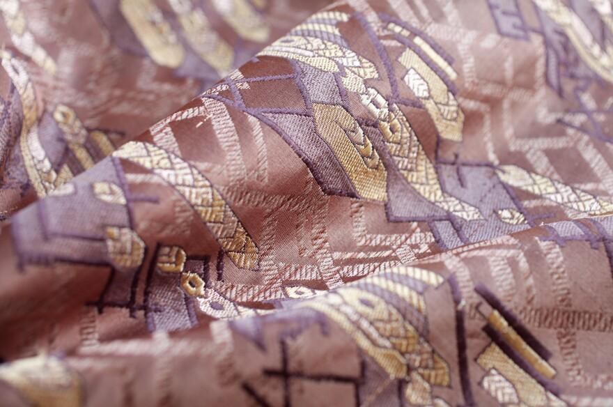 Nest's modern silks from Varanasi, India.
