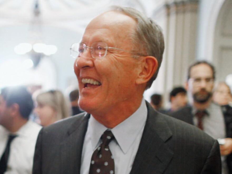 Republican Sen. Lamar Alexander of Tennessee