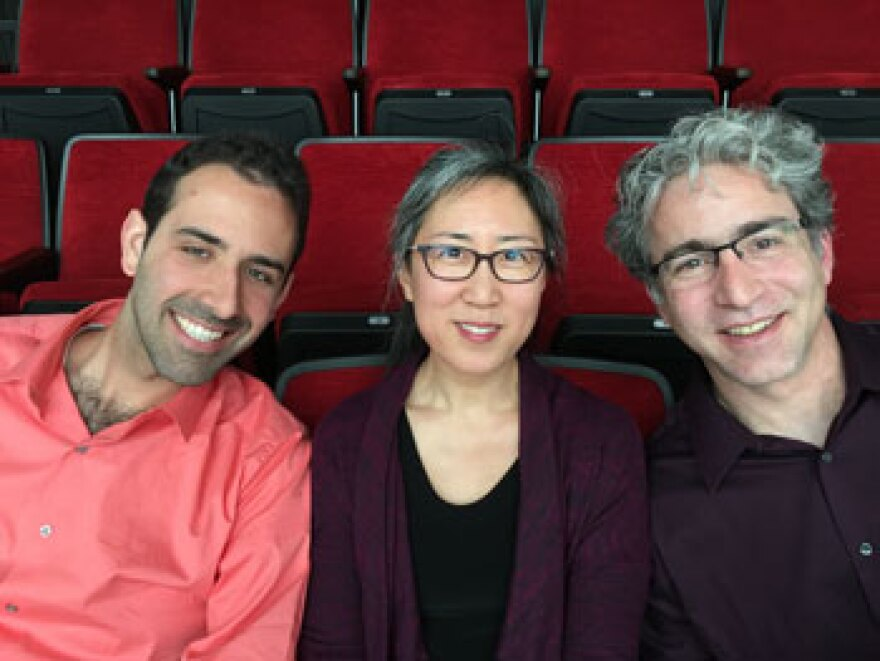 Cellist Isaac Pastor-Chermak Played Bach with Red Cedar Chamber Music's Miera Kim And Carey Bostian