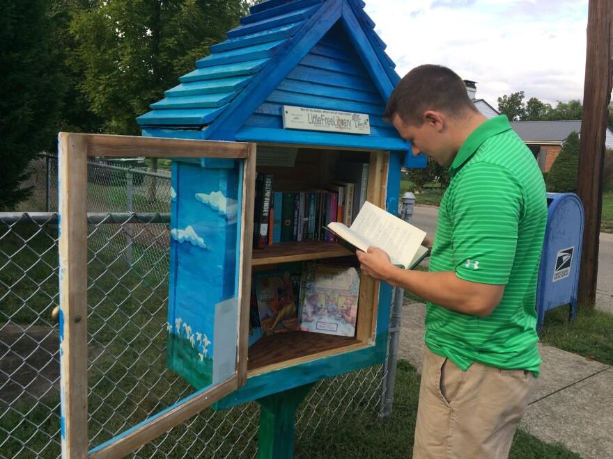 Matt Lockhart Little Free Library