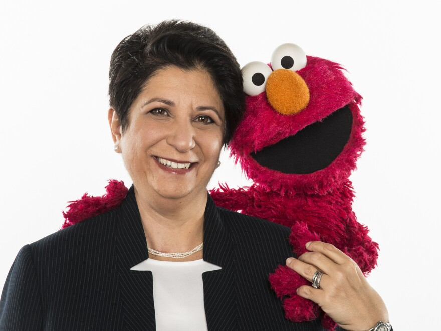 Dr. Rosemarie Truglio, Senior Vice President of Curriculum and Content with <em>Sesame Street</em>, works to make content that engages and educates young audiences.