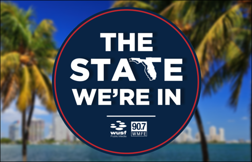 Logo for State We're In show