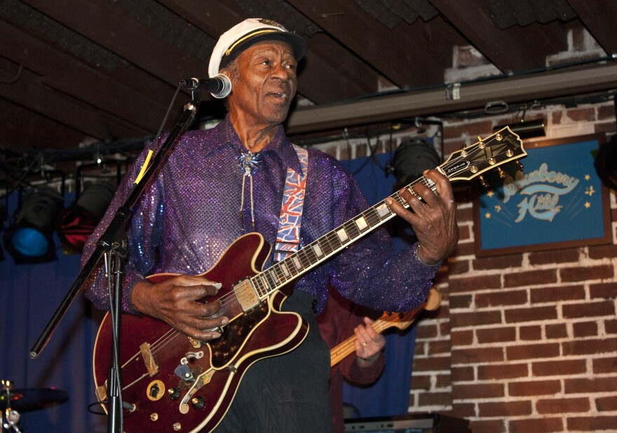 Chuck Berry plays one of his monthly shows at the Duck Room in Blueberry Hill.