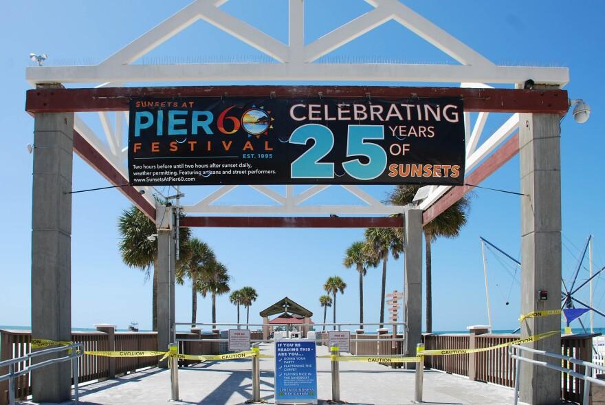 Pier 60 closed