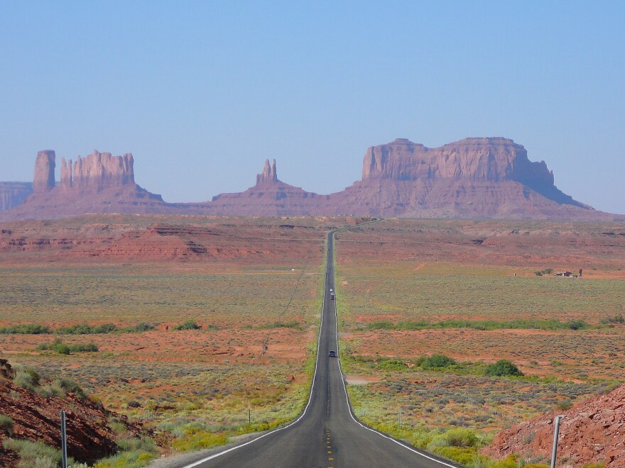 Photo of Monument Valley in Utah.