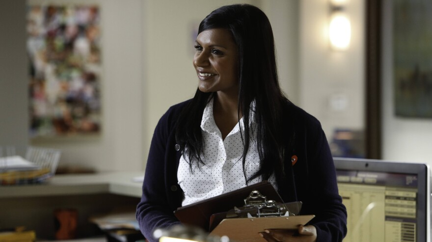 Dr. Mindy Lahiri (Mindy Kaling) must juggle a variety of responsibilities as an obstetrician-gynecologist in <em>The Mindy Project</em>.