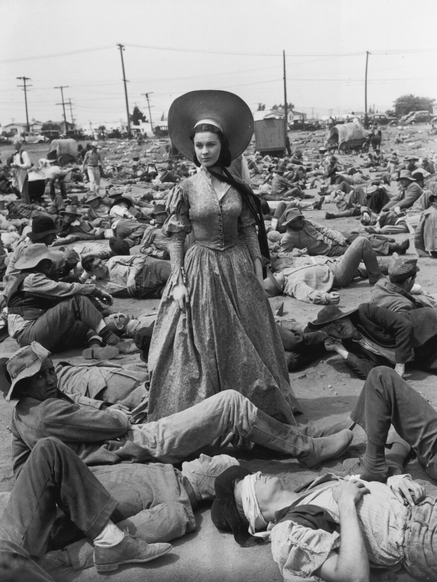 <strong>On The Set Of <em>Gone With the Wind:</em></strong> If I have to lie, steal, cheat or kill, as God as my witness, I'll never eat ramrod rolls again!