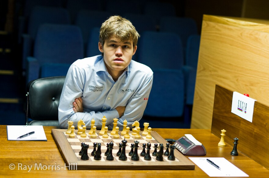 Magnus Carlsen is 22 and the world's highest-rated player ever. He will be in St. Louis for a tournament in September.