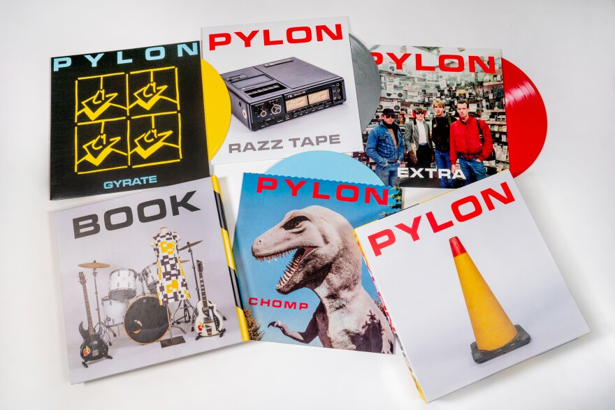 <em>Pylon Box</em> includes the band's first two albums remastered and two additional LPs of rarities and singles, plus a 208-page book.