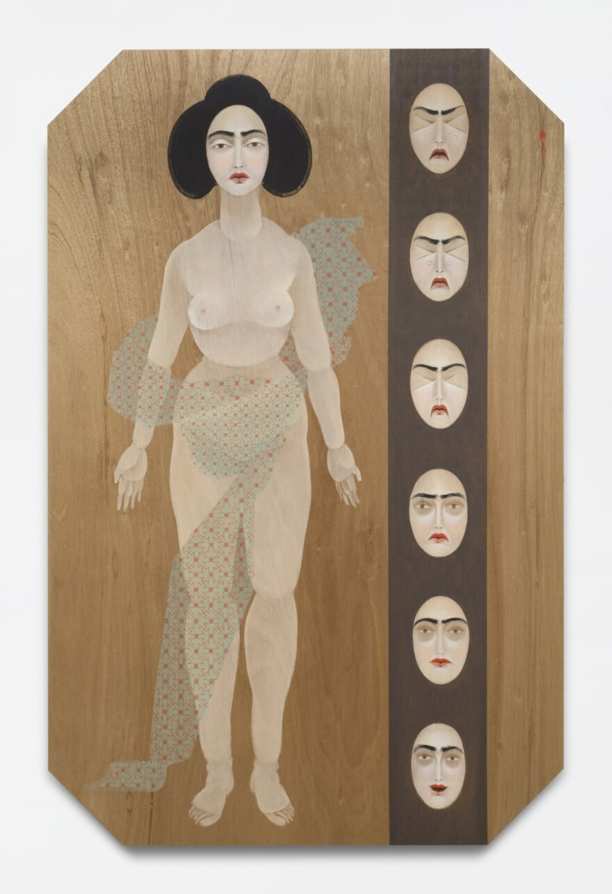Pain Scale is among the works of artist Hayv Kahraman to be shown in CAM exhibitions opening in September.