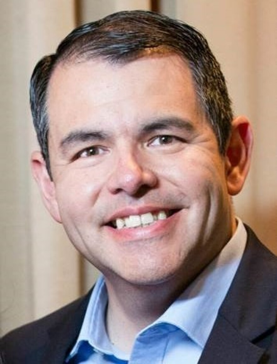 Jesse Rincones, the executive director of Convención Bautista Hispana de Texas — a collection of over 1,100 Baptist congregations in Texas