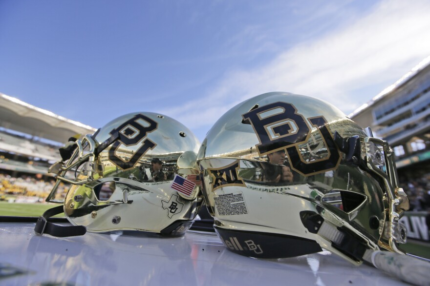 A new lawsuit accuses Baylor University football players of drugging and gang-raping young women as part of a hazing or bonding ritual and the Waco, Texas, university of failing to investigate.