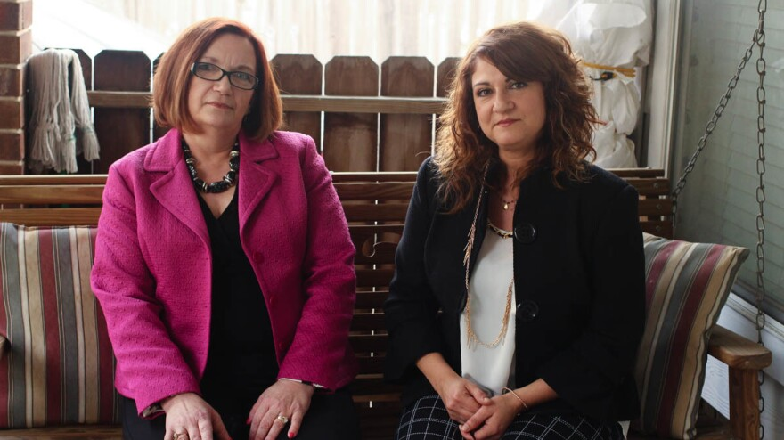 Joanna Wright, 58, and Tara Cummings, 47, spoke about their time at New Bethany Home for Girls during a StoryCorps conversation. Both women have testified that they were abused at the Louisiana school.