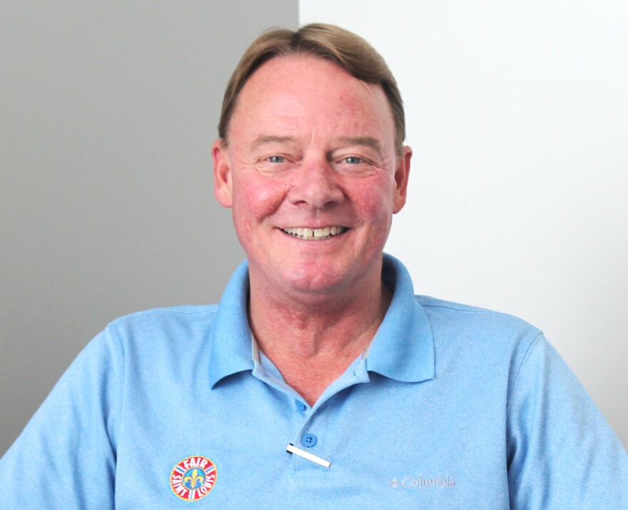 James Boldt is the general chairman of Fair St. Louis 2018.