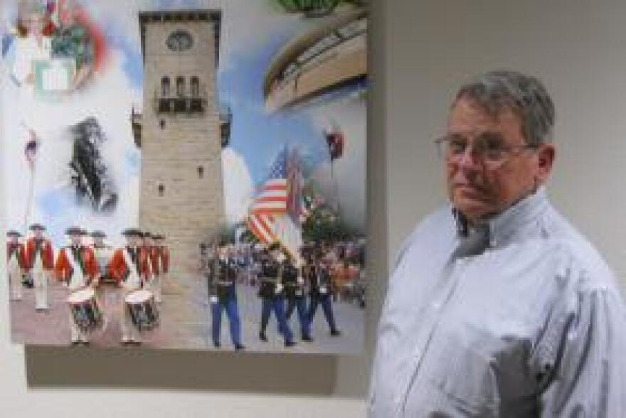 John Manguso at the Fort Sam Houston Museum says military bands date back to the Roman Empire.
