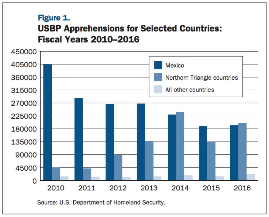 Immigration Enforcement Actions: 2016, U.S. Department of Homeland Security (DHS).