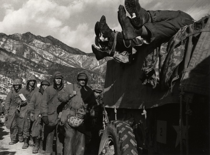 Photo from the Korean War, 1950.